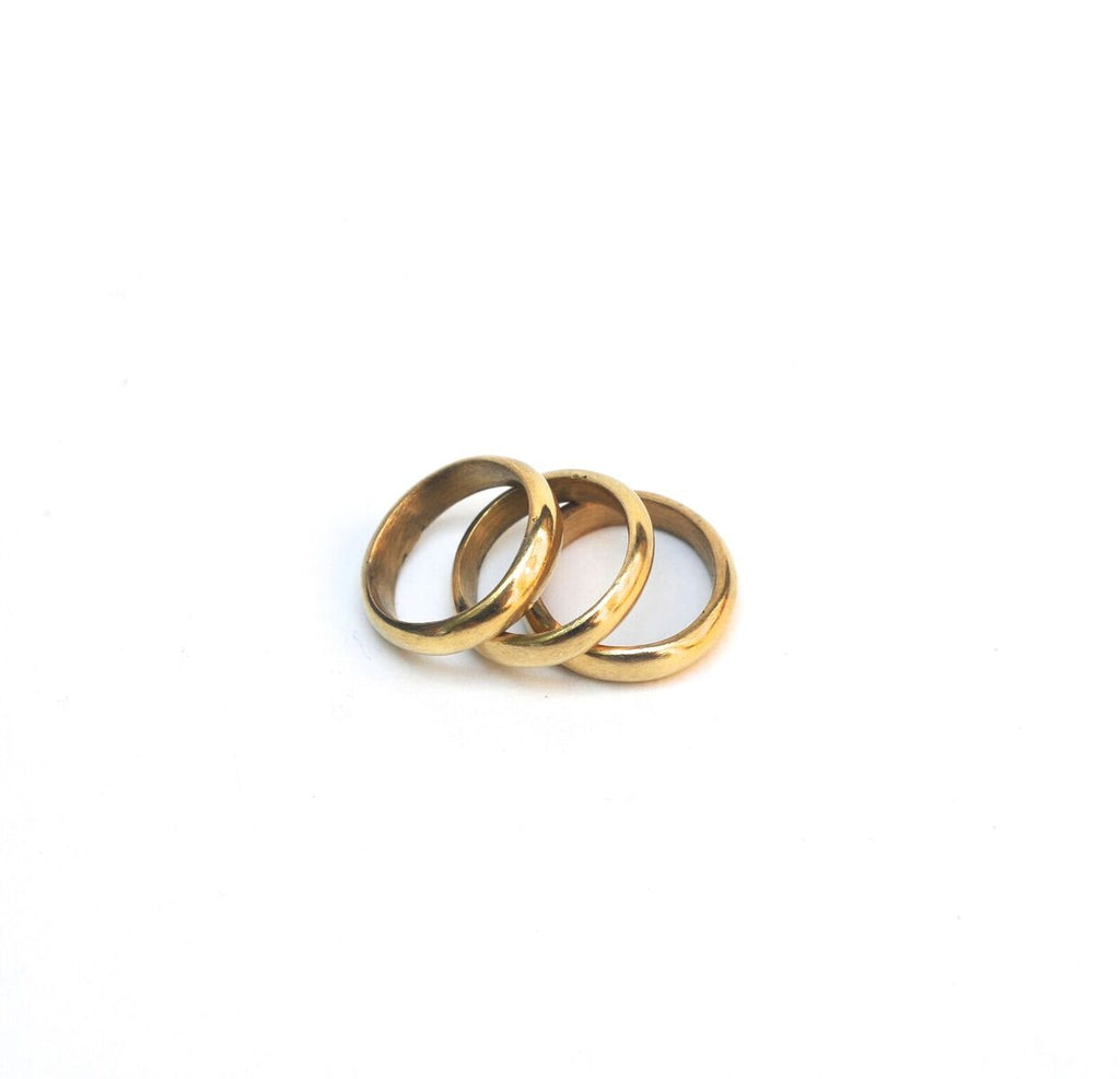 Chuki Brass Stacking Ring