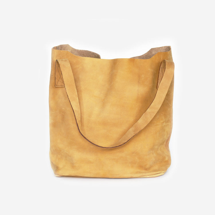 Nubuck Leather Classic Tote