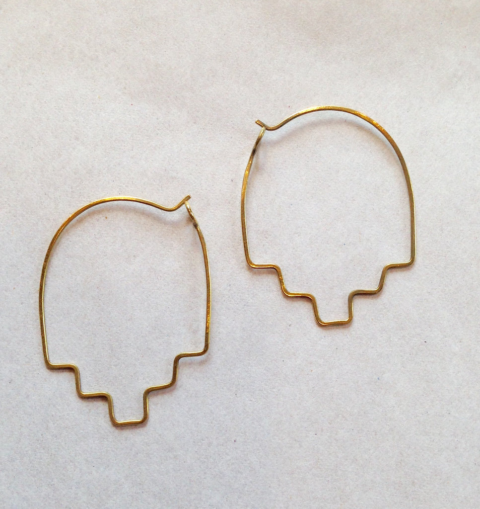 Turk Brass Earrings