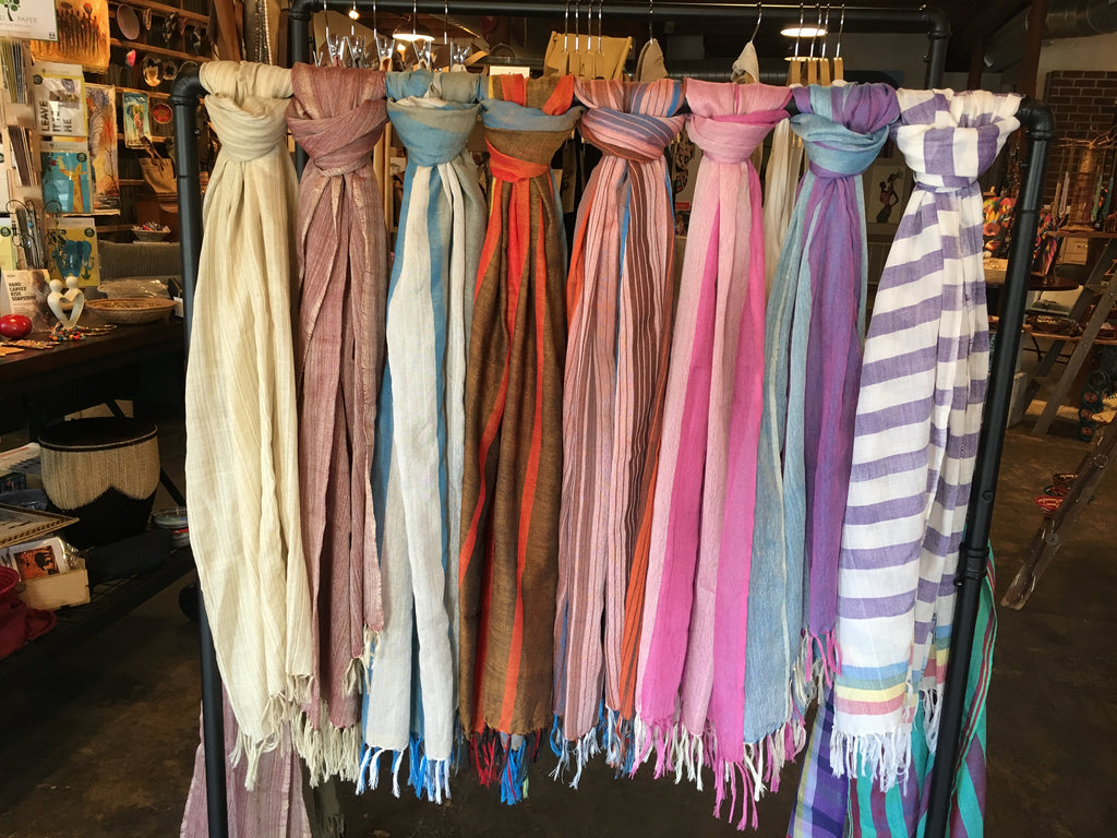 Scarves from Ethiopia