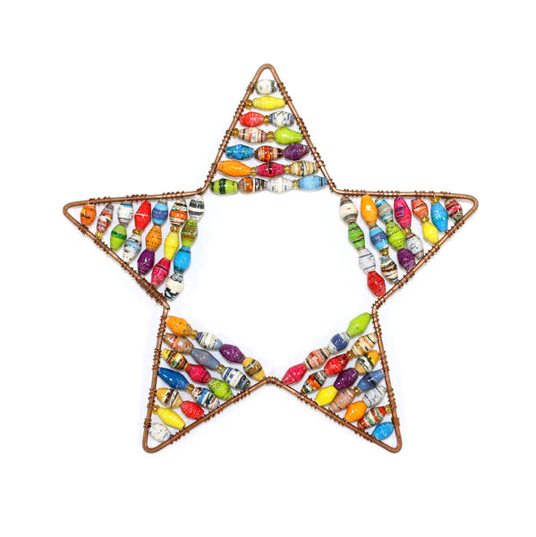 Paper Bead Ornament - Large