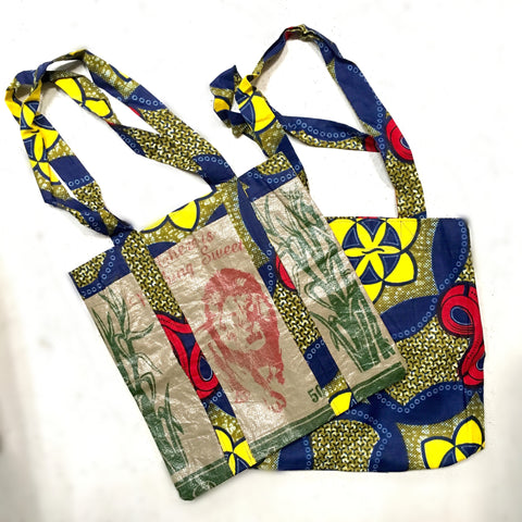Tote Bag - Sugar Sack (reversible)