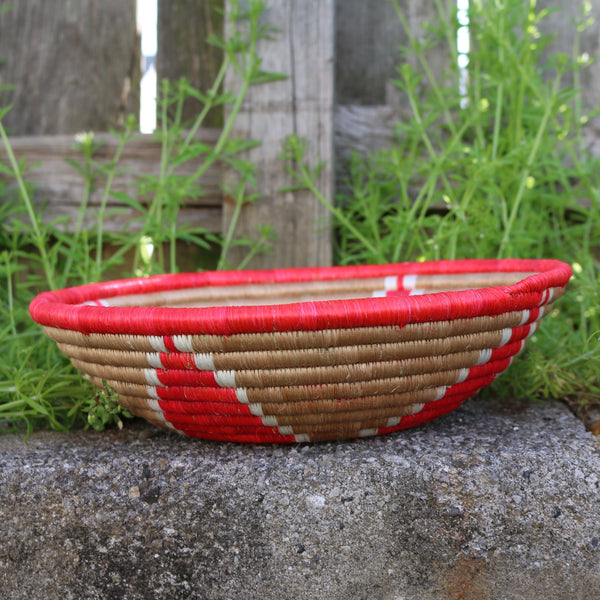 Red African Basket 2