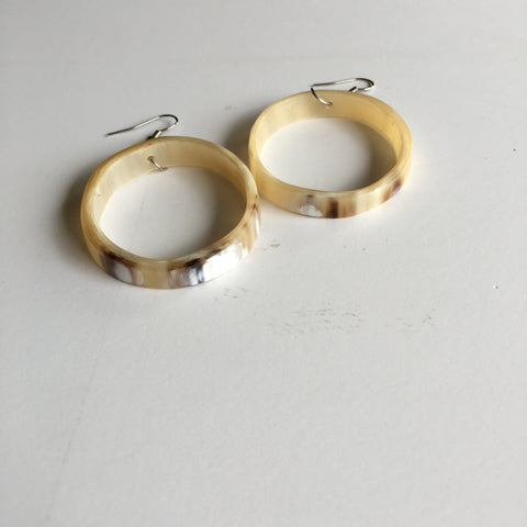 Cow Horn Earrings