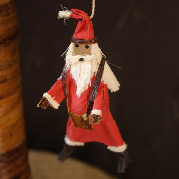 African Santa Claus Ornament