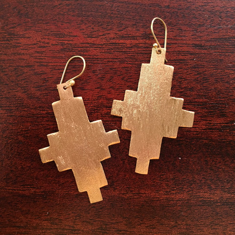 Desa Brass Earrings