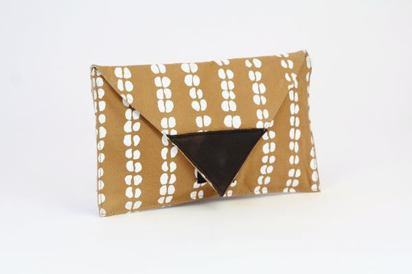 Zambian Canvas Clutch