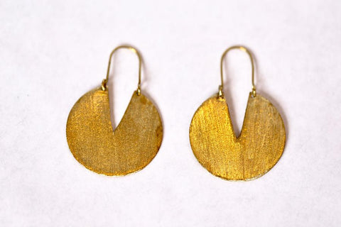 Kamari Brass Earrings