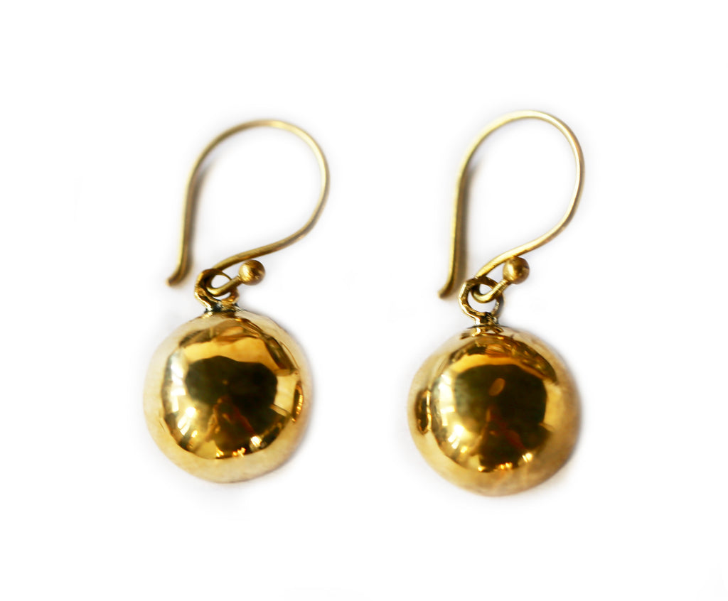 Fair Trade Mudura Brass Earrings