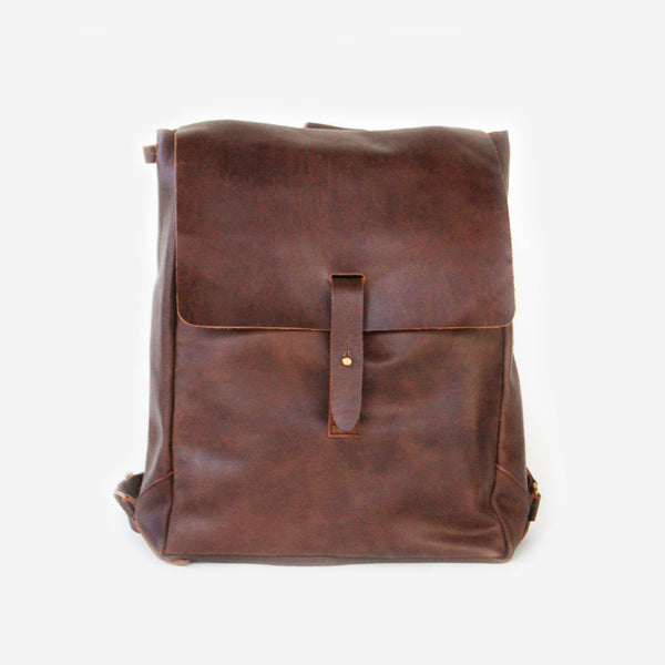 Nubuck Leather Backpack