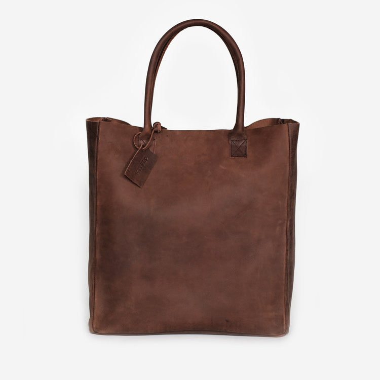 Nubuck Leather Carryall