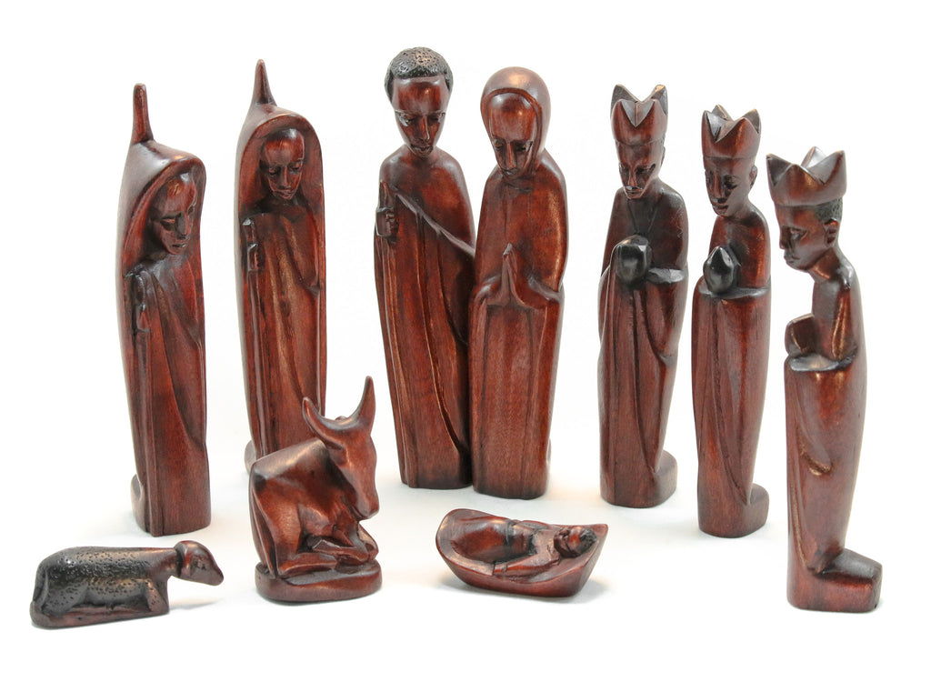 Jacaranda Nativity Set