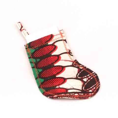 Kitenge Stocking Ornament