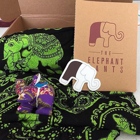 The Elephant Pants Sticker