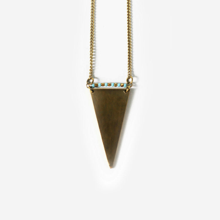 Vero Brass Necklace