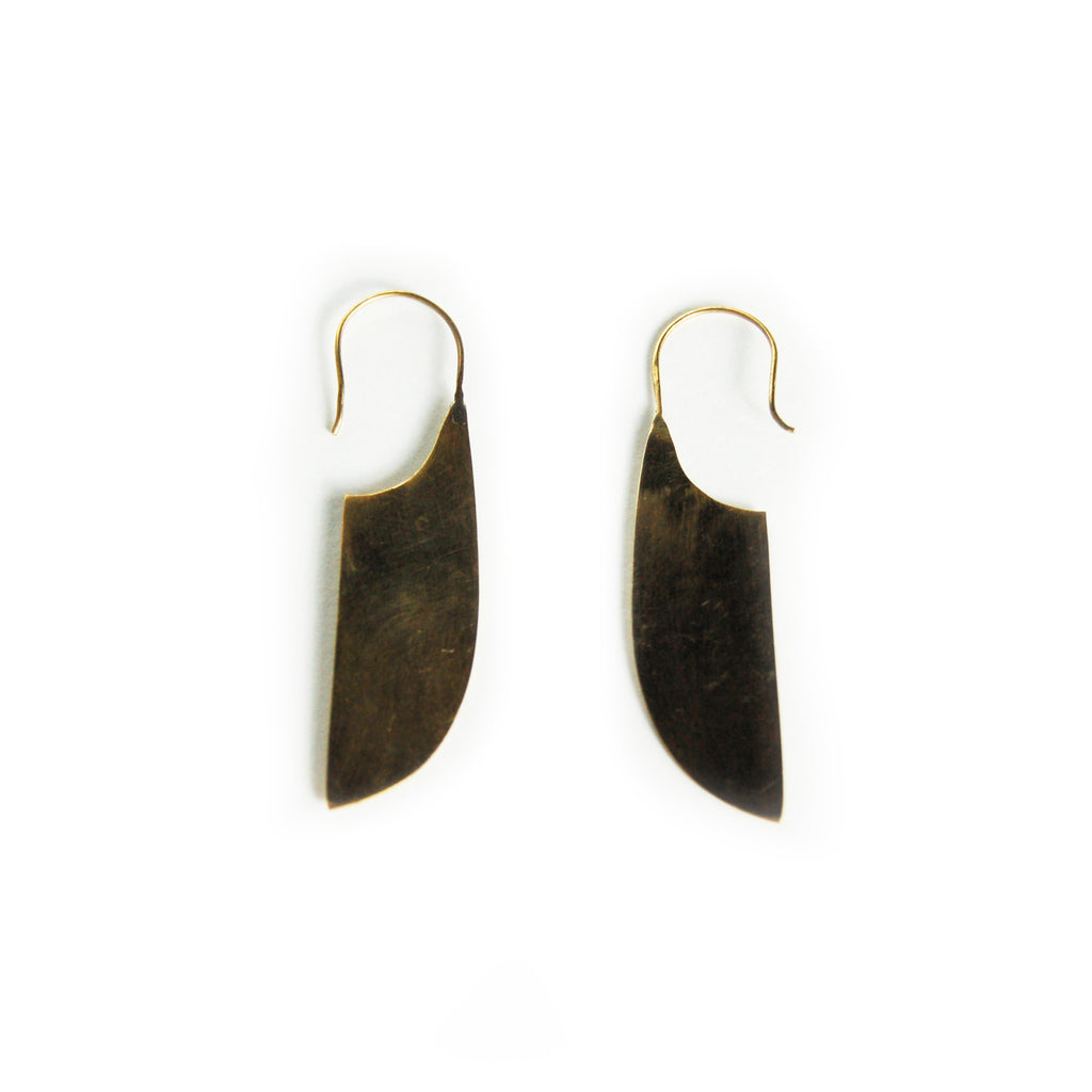 Zula Brass Earrings