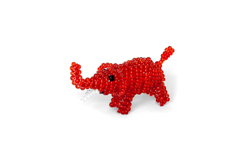 Glass Bead Animal Ornament