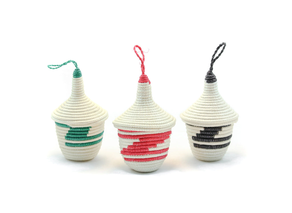 Rwandan Peace Basket Ornament