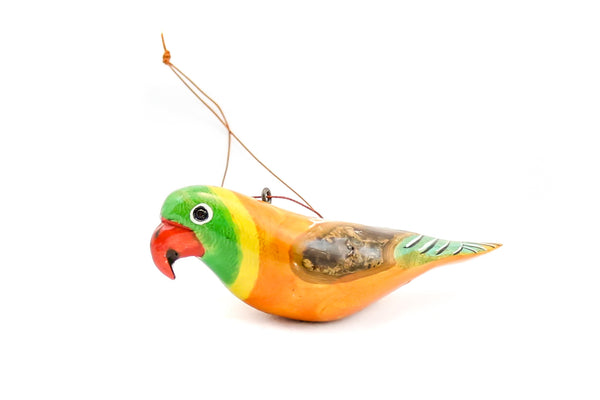 Wood Bird Ornament - East Africa