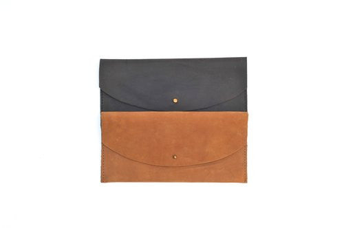 Lulu Leather Clutch