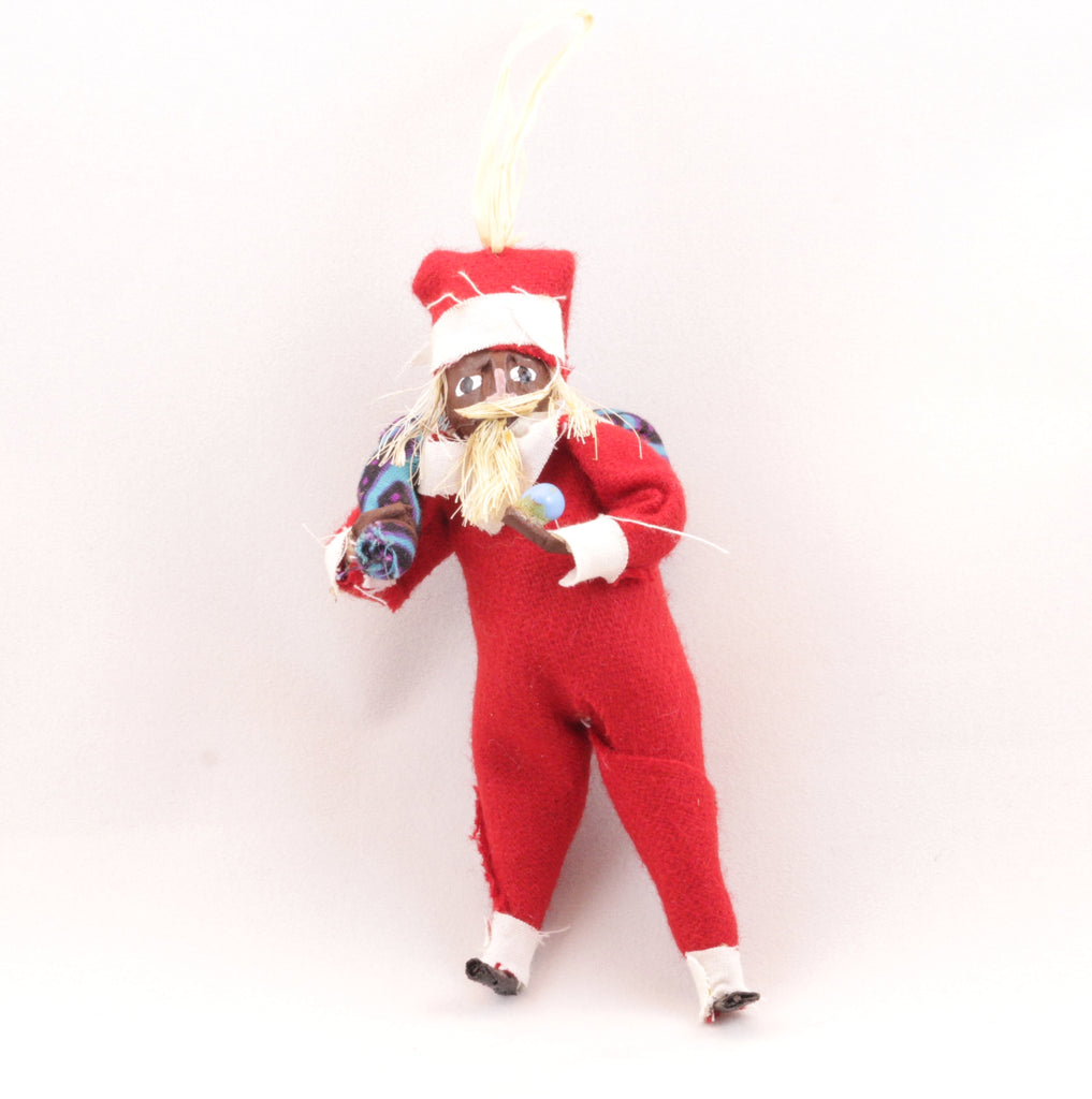 Black Santa Claus Ornament