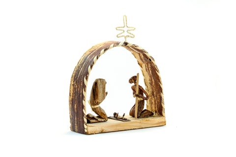 Banana Fiber Nativity