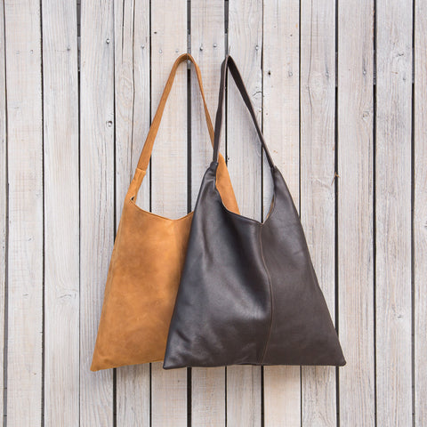boho leather bag handcrafted kenya fair trade