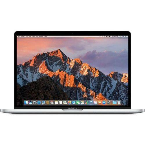 Apple MacBook Pro 15.4 (MLW82 with Touch Bar 2016 Model, 16GB RAM) Silver - Front View