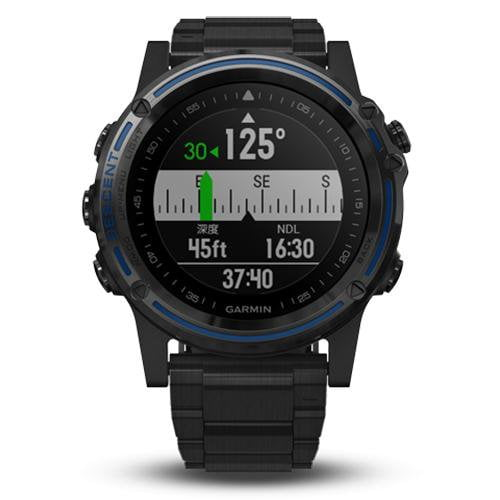 Garmin Descent Mk1 Titanium - Front View
