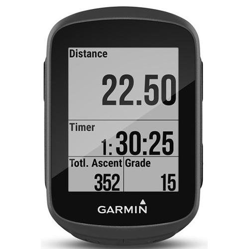 Garmin Edge 130 GPS Bike Computer Black - Front View