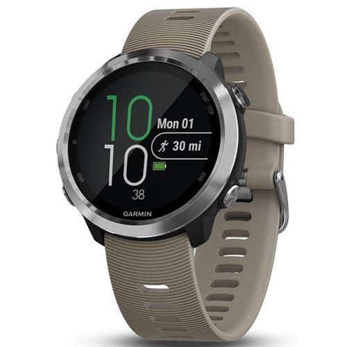 Garmin Forerunner 645 GPS Running Watch Sandstone - Front View