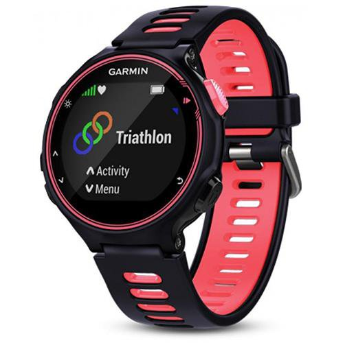 Garmin Forerunner 735XT Advanced GPS multisport watch Purple - Front View
