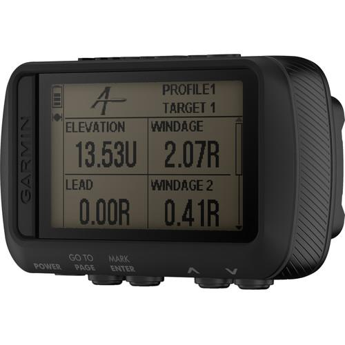 Garmin Foretrex 701 Ballistic Edition Wrist-mounted GPS Navigator without Strap Black - Front View