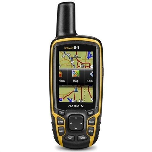 Garmin GPSMAP 64 Yellow/Black - Front View
