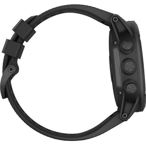 Garmin Tactix Charlie GPS Watch Black - Side View