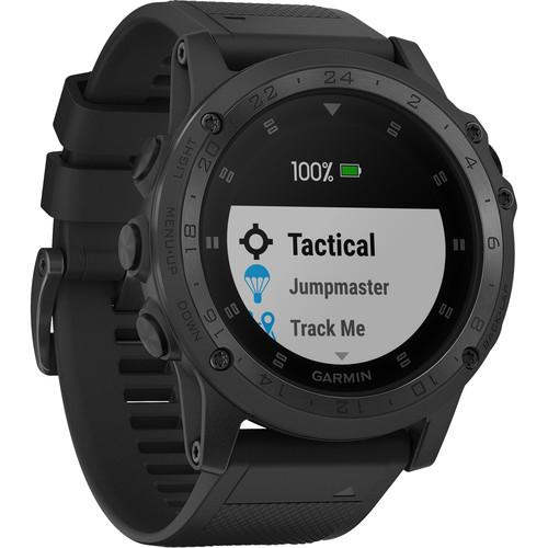 Garmin Tactix Charlie GPS Watch Black - Front View