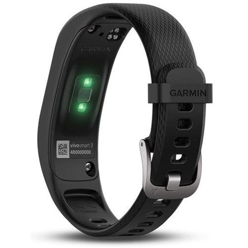 Garmin Vivosmart 3 (Regular) Black - Back View