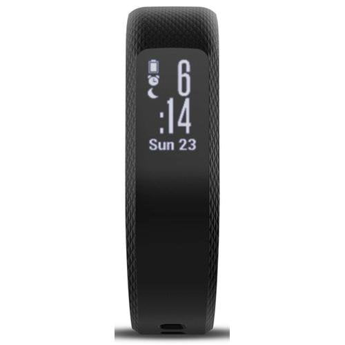 Garmin Vivosmart 3 (Regular) Black - Front View