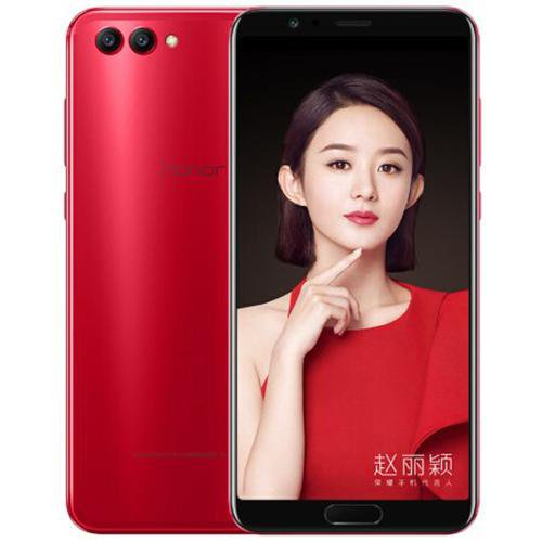 Huawei Honor V10 (BKL-AL20) Red - Front Back View