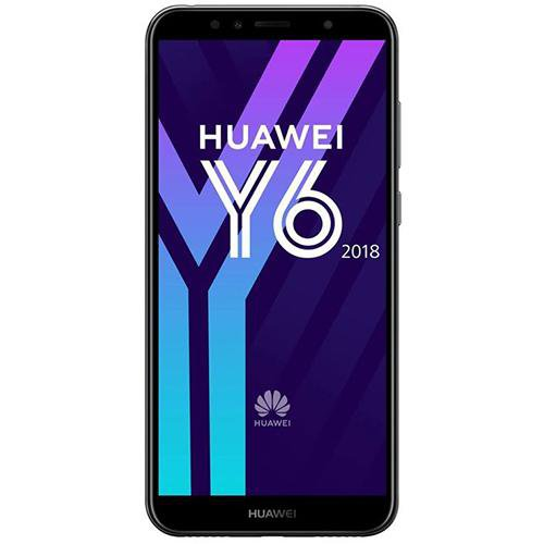 Huawei Y6 (2018) Black - Front View