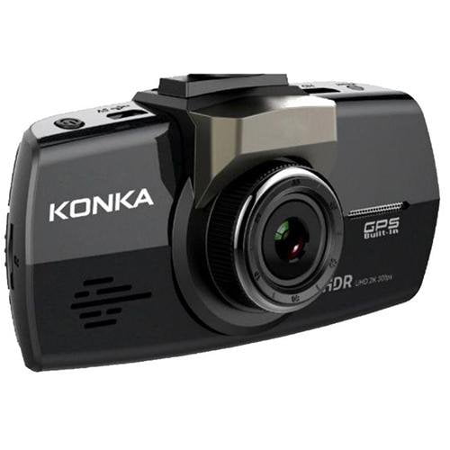 KONKA DE1 Dash Cam Black/Grey - Front View