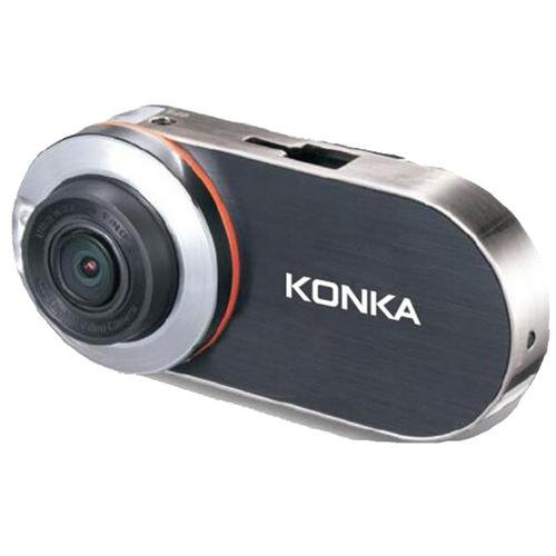KONKA DP2 Dash Cam Black/Silver - Front View