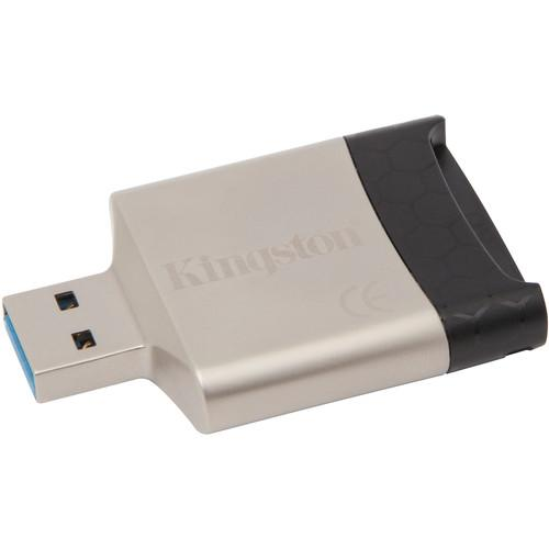 Kingston MobileLite G4 Multifunction Card Reader - Back View