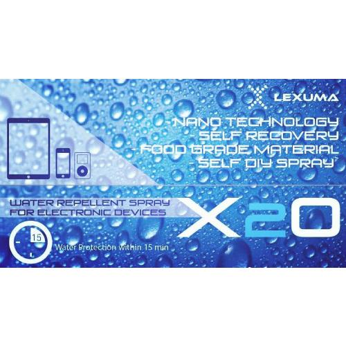 Lexuma X2O Water Repellent Spray for Electronic Devices