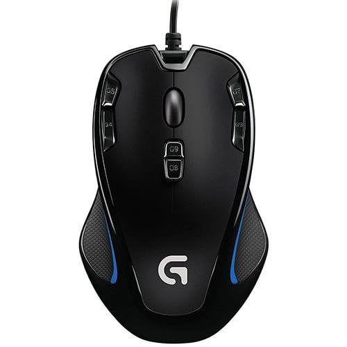 Logitech G300S Optical Gaming Mouse - Front View