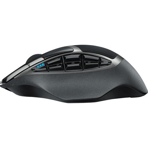 Logitech G602 Wireless Gaming Mouse - Side View