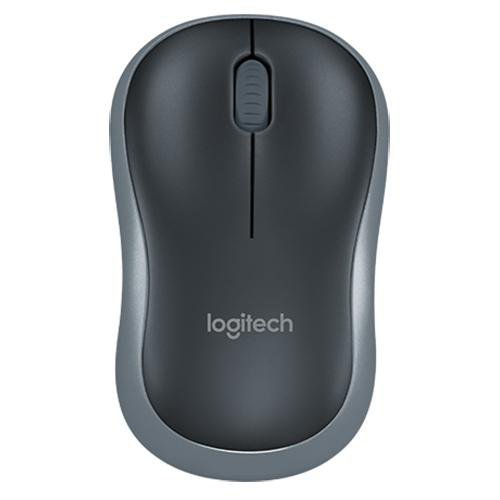 Logitech M185 Wireless Mouse - Front View