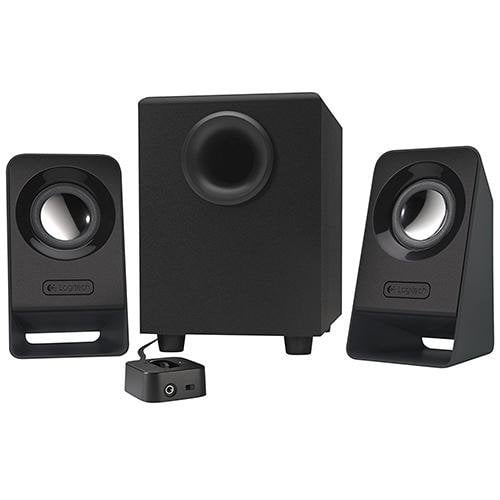 Logitech Z213 Compact 2.1 Speaker System - Front View