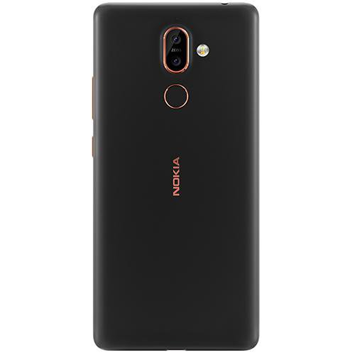 Nokia 7 Plus (TA-1062) Black - Back View