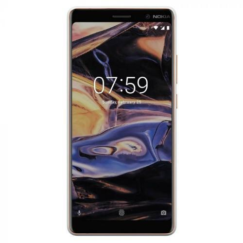 Nokia 7 Plus (TA-1062) White - Front View
